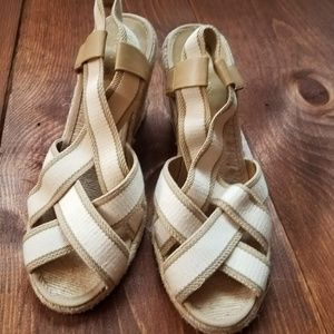 Sale!  RL LAUREN   Espadrille Wedge Sandal [New]